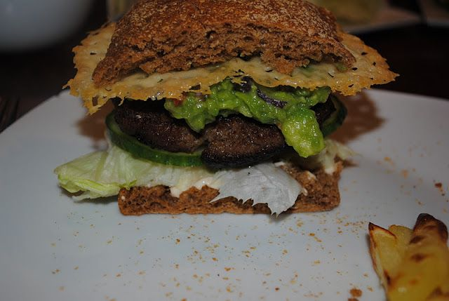 Anne's hyggested: Jack Daniels burger..