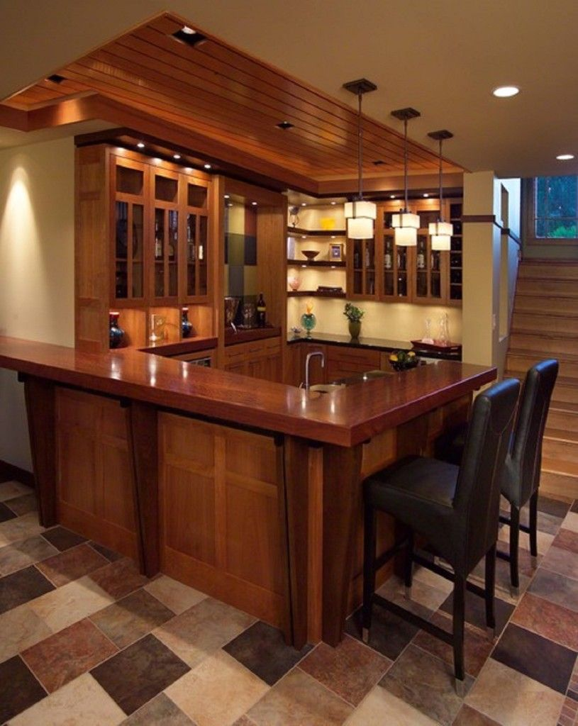 Basement: Free Basement Wet Bar Plans With Amazing Basement Bar Table And  Cabinets Have Led