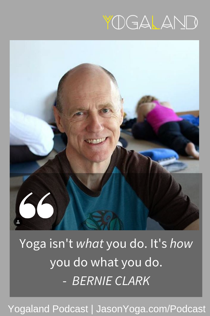 Bernie Clark On The Benefits Of Yin Yoga Yogaland Podcast Yoga Podcast Yoga Podcast Yin Yoga Yoga Articles