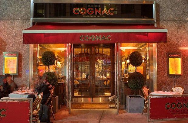Cognac Bar New York City Design Of Cognac Brasserie New