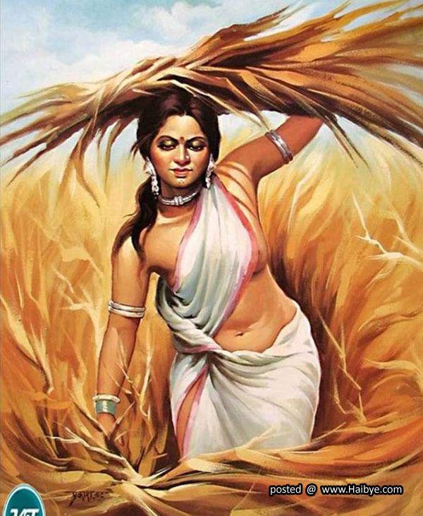 Beautiful Traditional Women Paintings Female Art Painting Indian Art Paintings Indian Women Painting