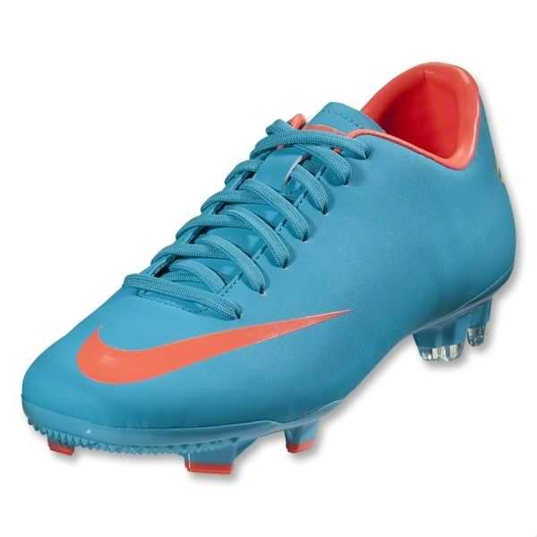 Nike Mercurial Victory Iii Fg Women S Cleats Turquoise Blue Bright Mango Worldrugbyshop Com Soccer Cleats Sport Shoes Cleats