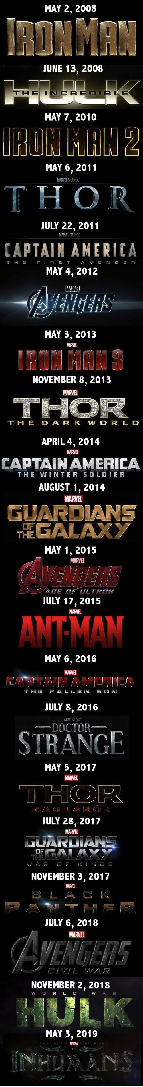 Marvel, Marvel everywhere.