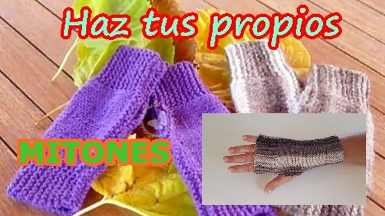 Lujo Mens Guantes Sin Dedos Patrón Que Hace Punto Componente - Manta ...