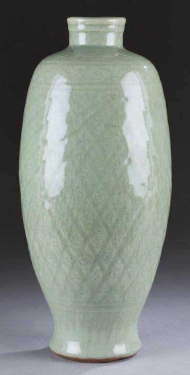 Chinese Celadon Vase On Pinterest Stoneware Glaze And Bodies