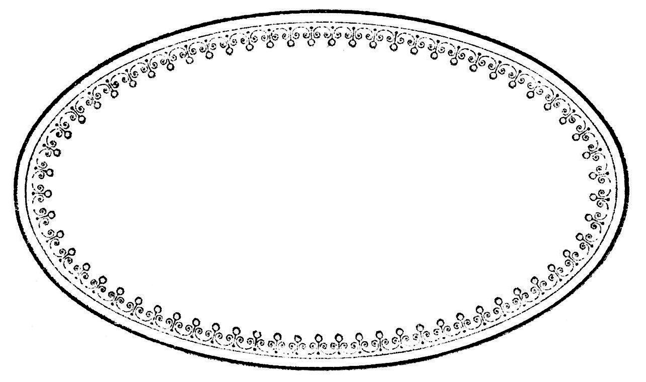 Royalty Free Images - Perfume Label - Oval Frame