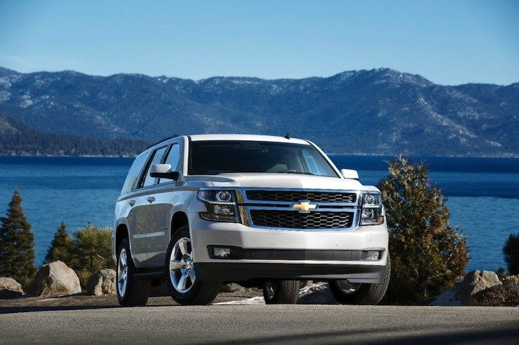 Review 2015 Chevrolet Tahoe Grows Into A More Refined Plugged In