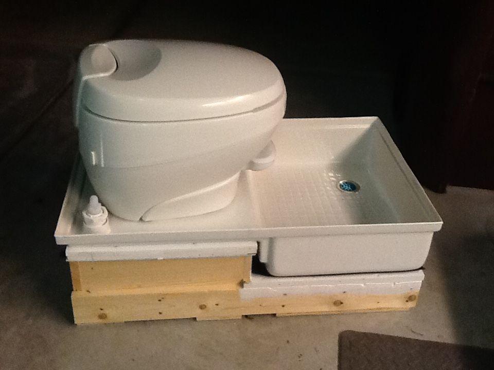 Plumbing Bath Cargovan Or Vancave Camper bathroom