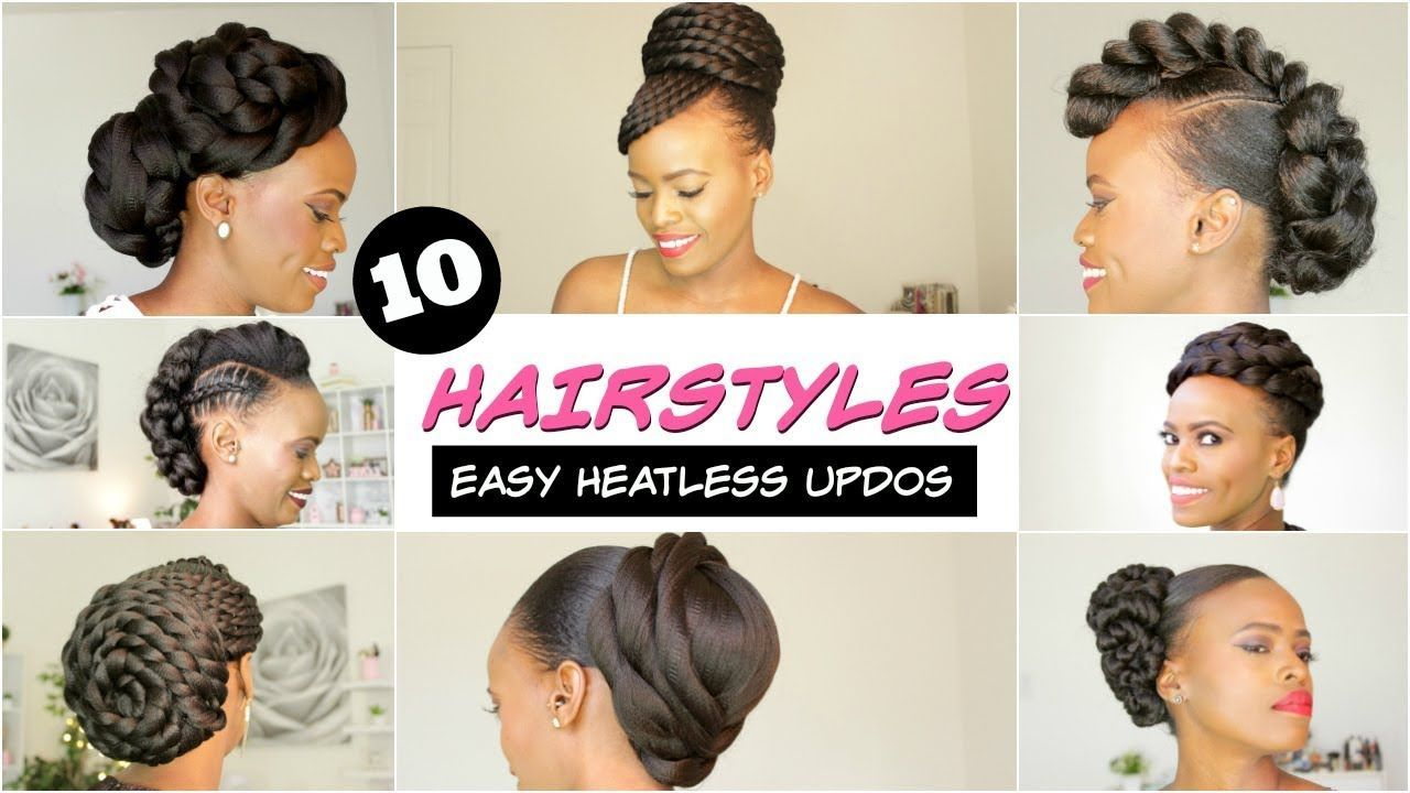 spring u summer natural hairstyles for black women