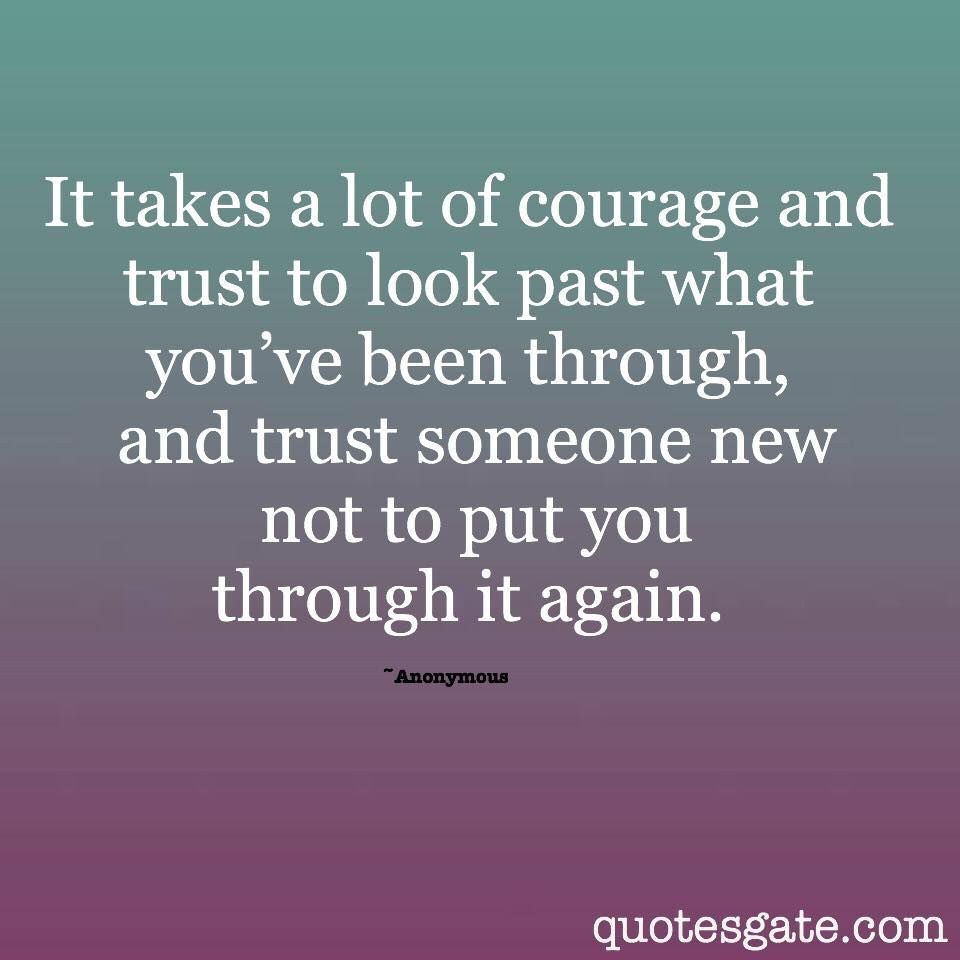 Learning to trust again | Faith & Love | Quotes, Quotes gate, New