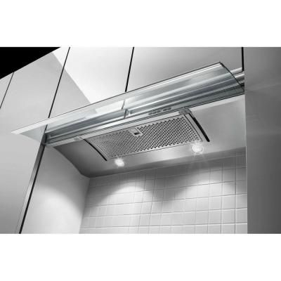 Kitchenaid 36 In Convertible Slide Out Range Hood In Stainless Steel Kxu2836yss At The Home Depot Stainless Range Hood Range Hood Kitchen Aid