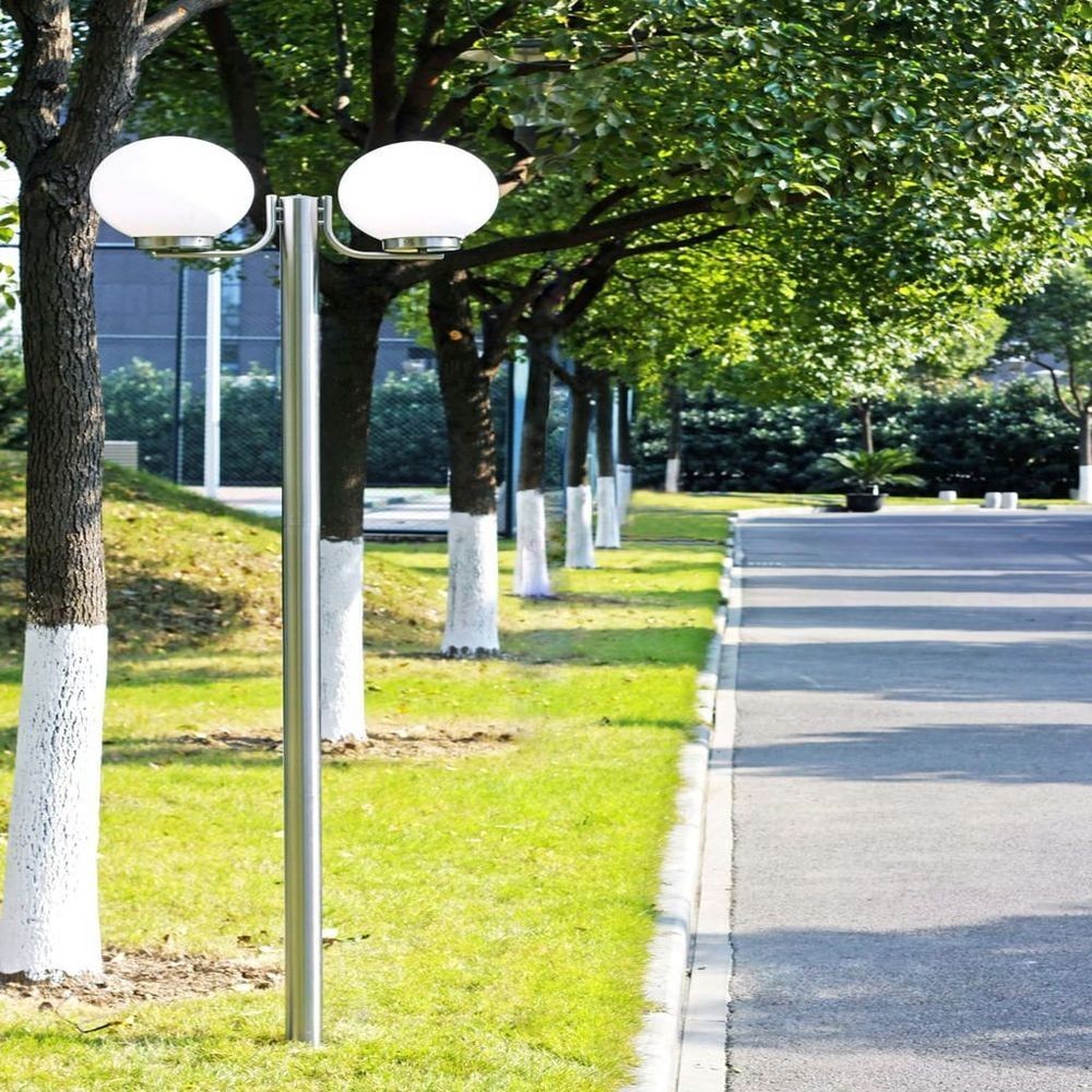 Patio Home Lighting Outdoors Garden Light 12 Lamps Post Porch Yard