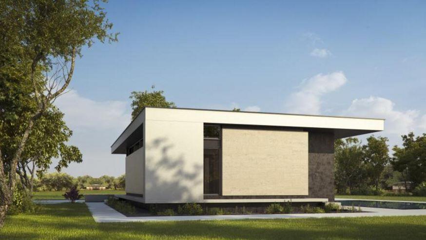 Casa minimalista una planta planos de casas modernas for Modelos de casas minimalistas de una planta