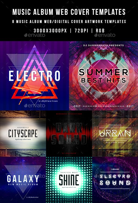 Music album web cover templates publicidade pinterest music music album web cover templates maxwellsz