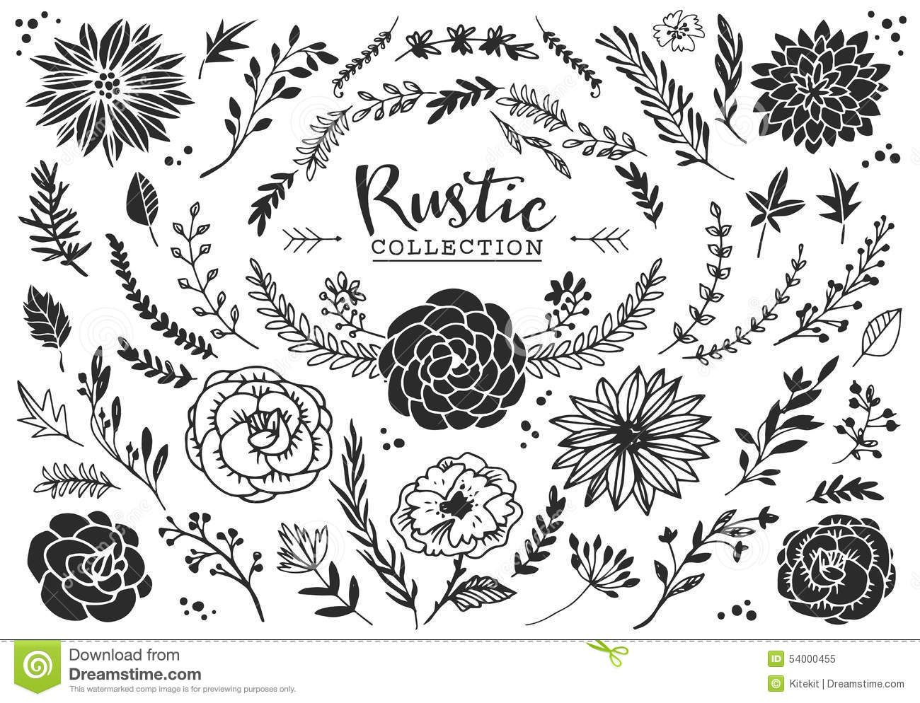 Rustic Banner Clip Art Vector Images Gallery