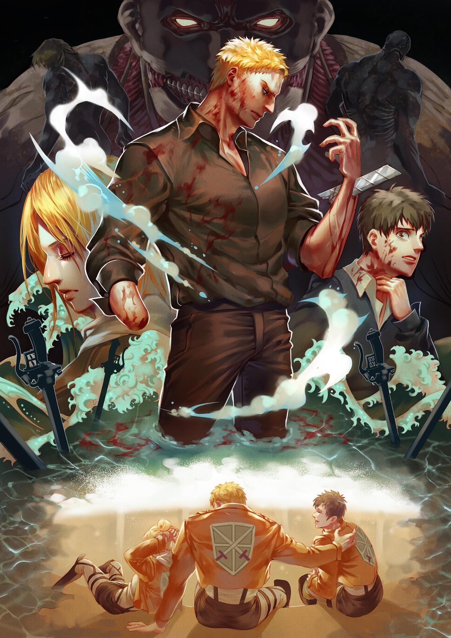 Ghim của LuTsuKi trên Attack On Titan Anime, Hoạt hình