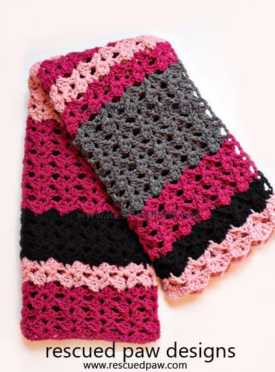 Simple Crochet Blanket Pattern: The Elise | Mantas de ganchillo ...