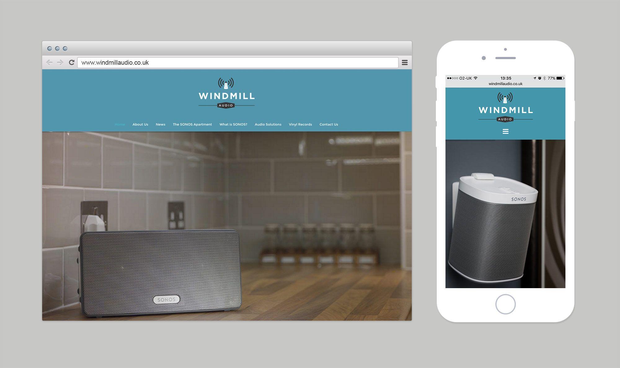 Windmill Audio Website Web Design Inspiration Website