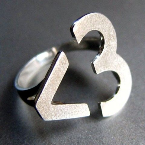 I Heart You Ring by Smiling-SilverSmith