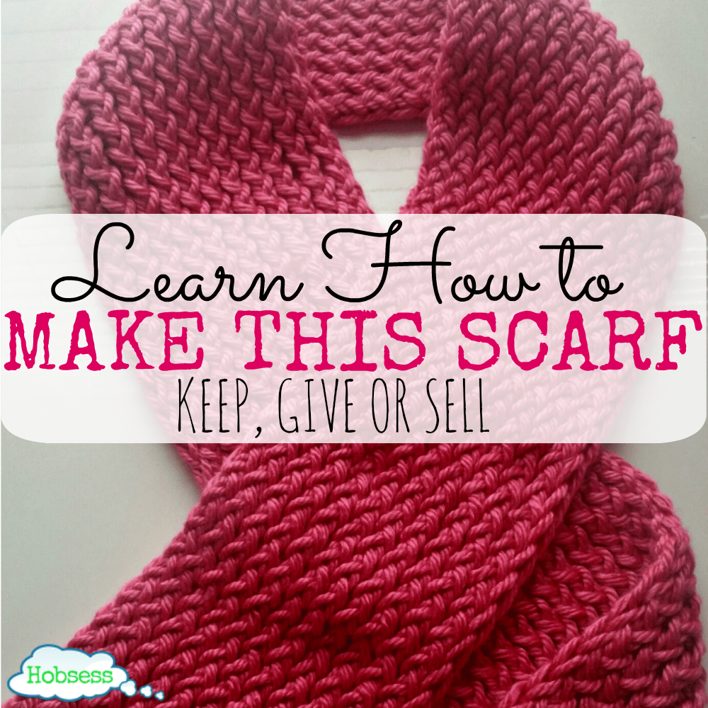 How To Knit A Really Easy Scarf For The Reluctant Crafter Crafts