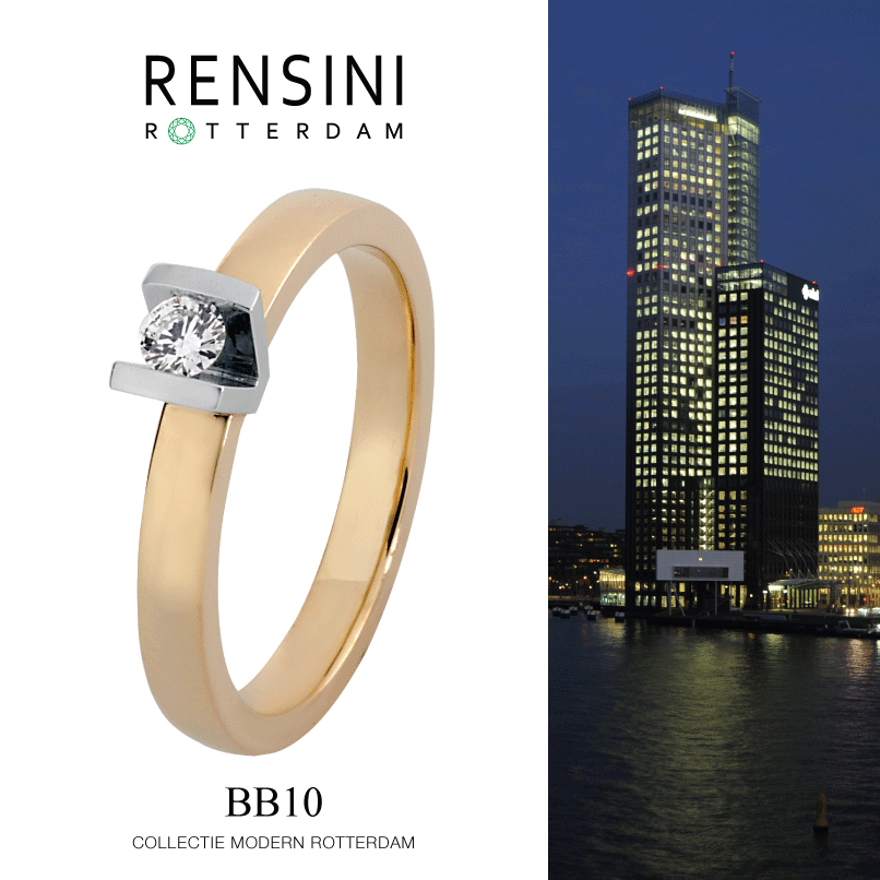 #ring #jewels #Rensini #Rotterdam Collectie Modern BB10