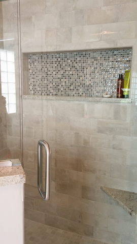 Bathroom Vanities Jacksonville jacksonville bathroom remodel (tile: emil kotto avana, accent