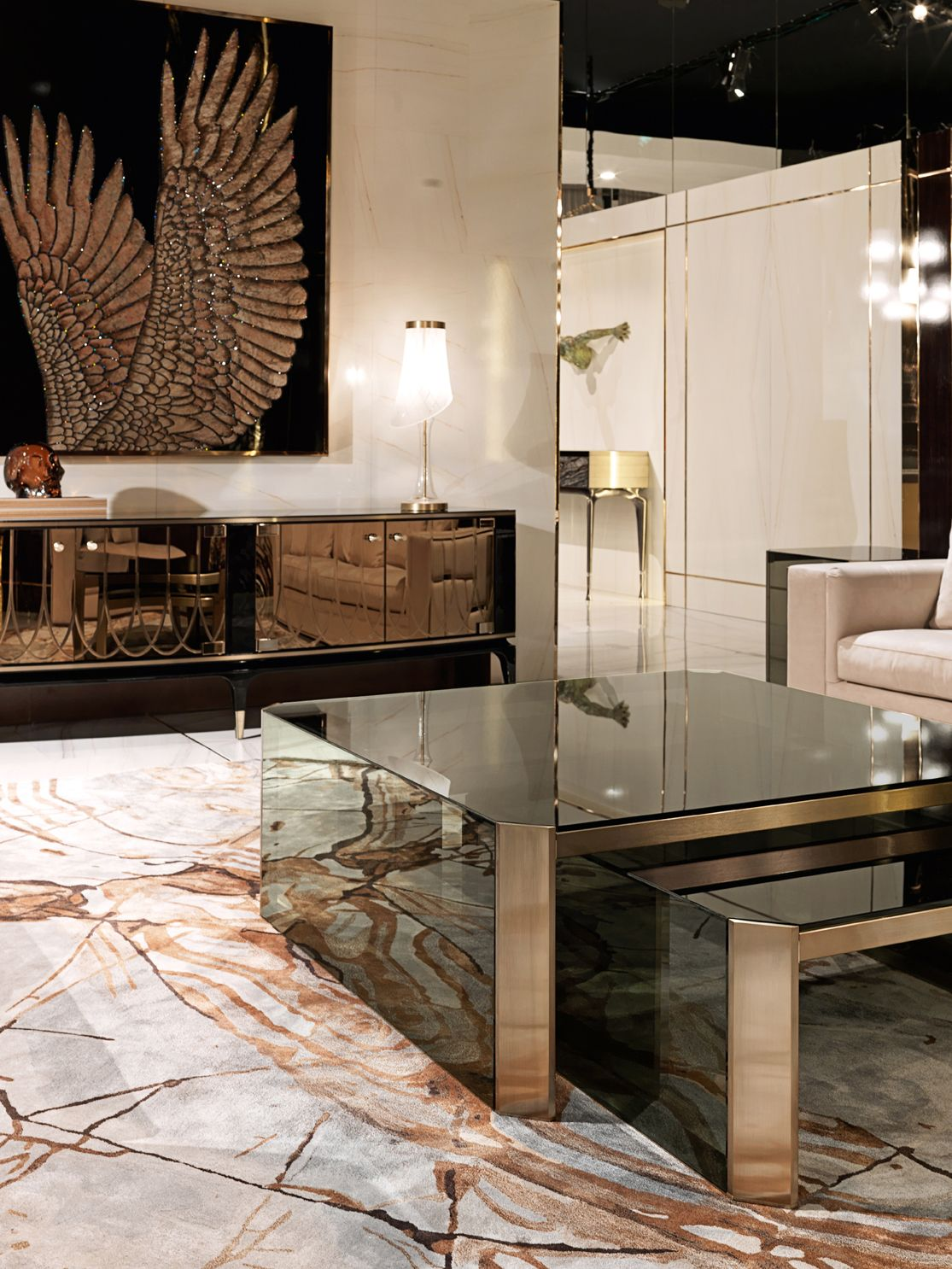 Babylon - Livingroom   Centre table living room, Center ...