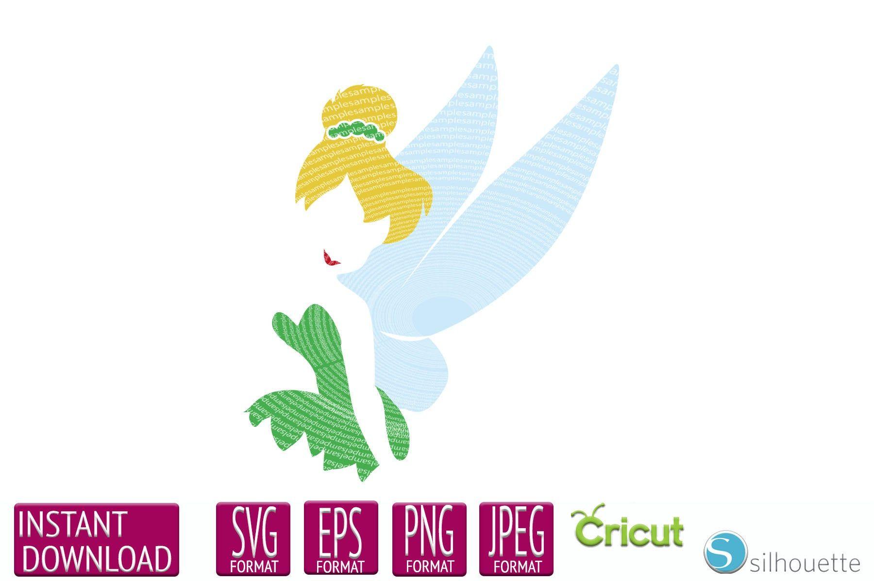Tinkerbell Svg Peter Pan Tinkerbell Svg Dxf And Png Instant Etsy Svg Peter Pan And Tinkerbell Peter Pan