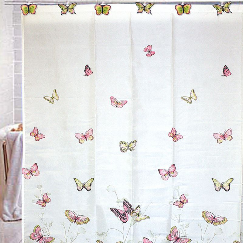hooks for monarch butterfly shower curtain