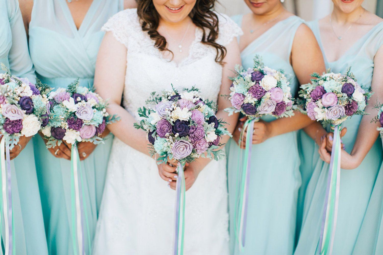 8 Wedding Bouquets Without Flowers Handmade Wedding Pinterest