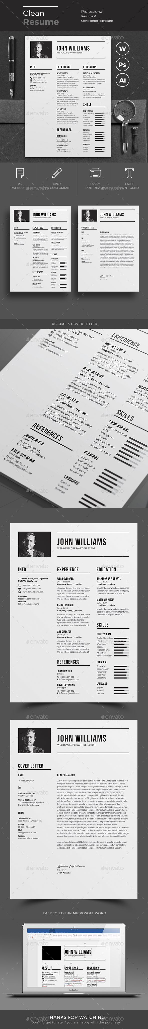 Resume Maker For Mac Resume Template  Resume Builder  Cv Template  Free Cover Letter .