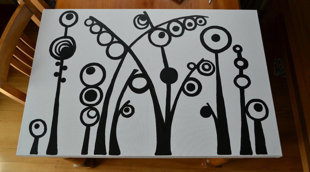 Cute easy canvas painting ideas and techniques home for Simple easy paintings