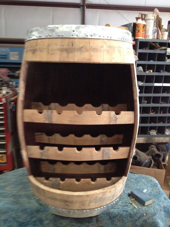 storage oak wine barrels. Wine Barrel Stave Rack Is Created From A Recycled Oak Napa California Winery It Will Hold 15 Bottles. Storage Barrels S