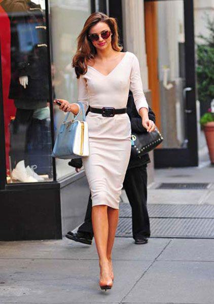 Miranda Kerr in Victoria Beckham
