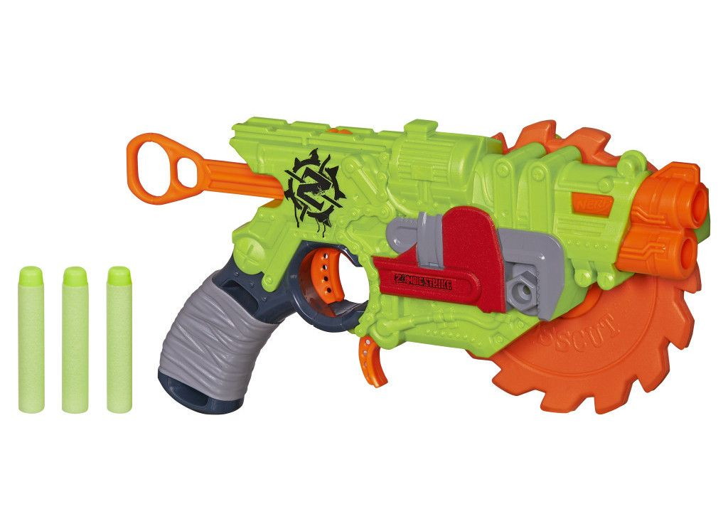 Given they're just toys, Nerf's blasters aren't really known for accuracy.  The best approach has always been to just send as many darts as possible at  your ...
