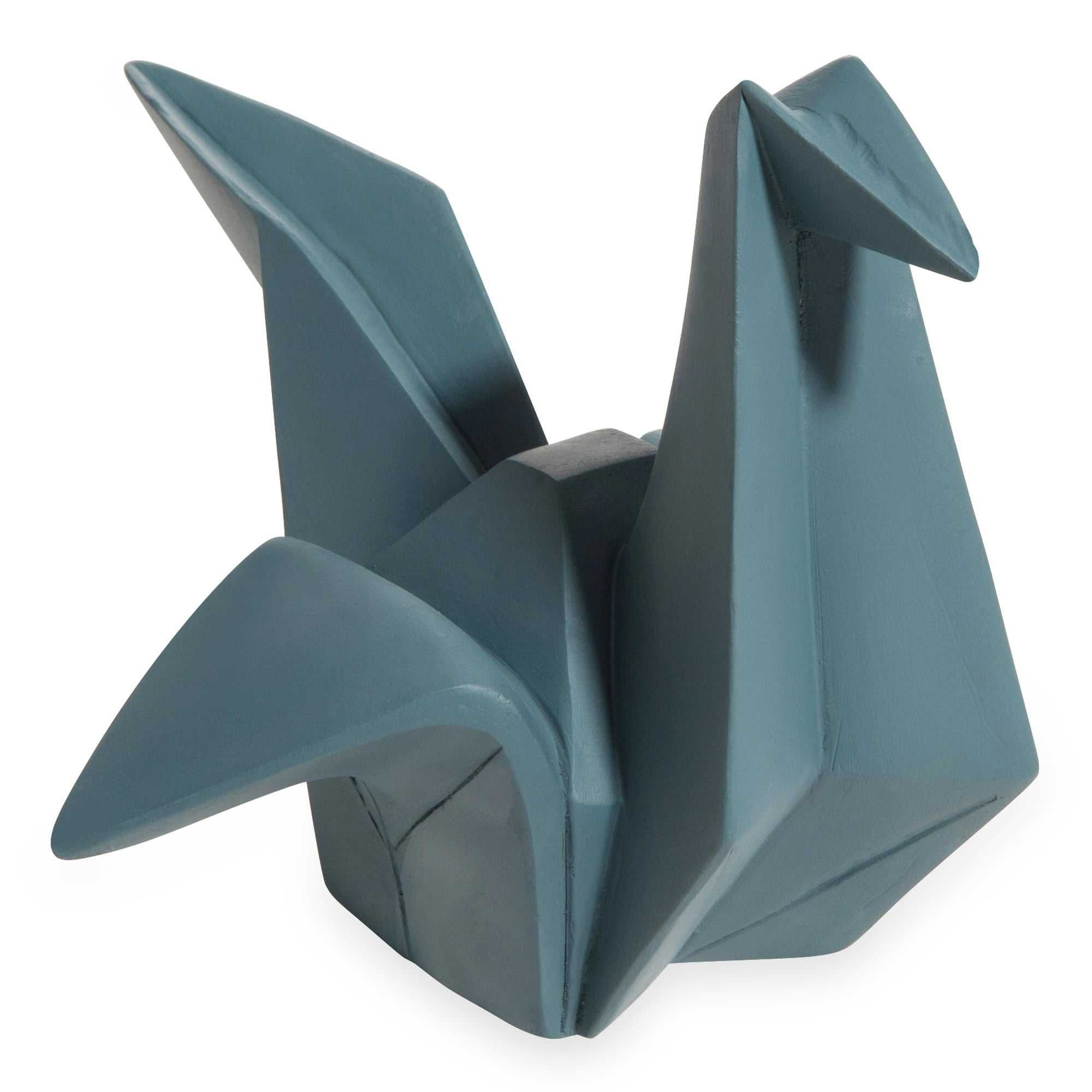 statuette grue bleu marine origami deco st brevin en 2019 pinterest decoration. Black Bedroom Furniture Sets. Home Design Ideas