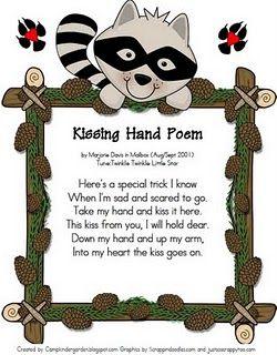 image regarding The Kissing Hand Printable named No cost Kissing Hand poem printable. Delight in this Ppoem. Incorporate employed