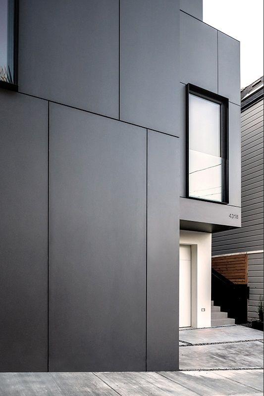 3 Story House By Edmonds Lee Architects Haus Fassade Haus Eternit Fassade Und Aussenfassade