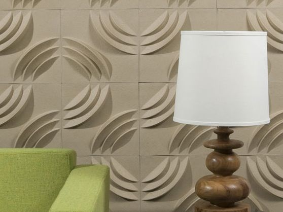 Texture Walls:mio Ripple Three-dimensional Wall Tiles