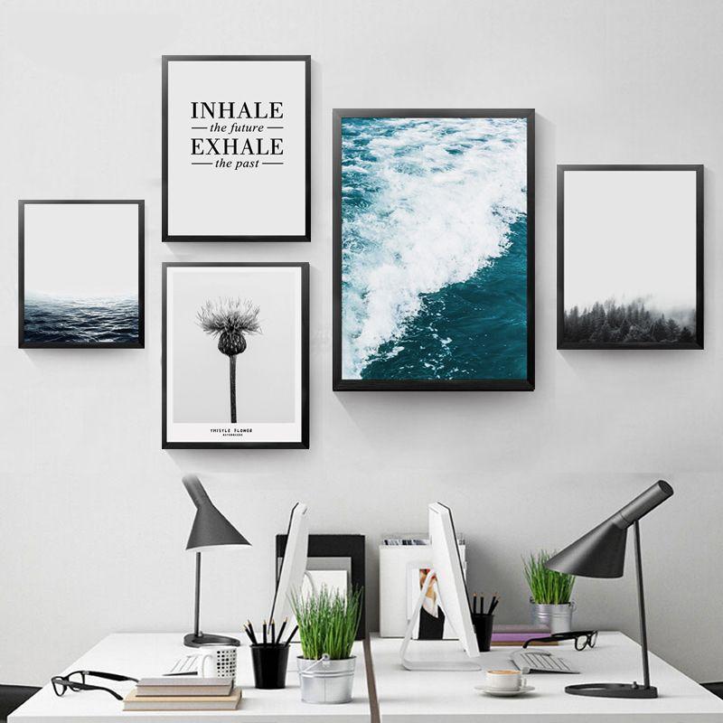Teneffus Exhale Odasi Icin Duvar Dekor Boyama Tuval Baski Poster