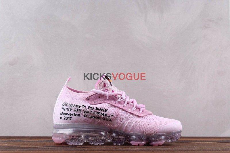Custom Dye Off White x Nike Vapormax Pink   kicksvogue
