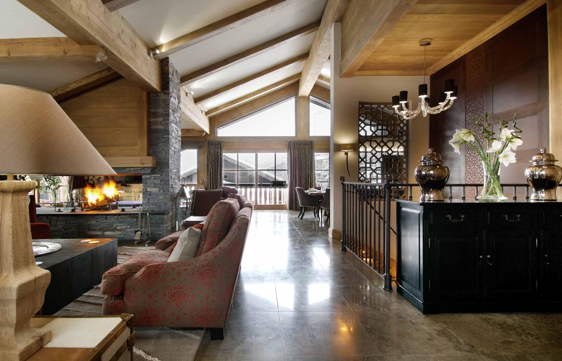 Chalet Le Blanchot | Chalet Interior Design Project | Courchevel 1850, Luxury Chalet interiors, luxury ski chalet design, ski chalet designer, Residential interiors
