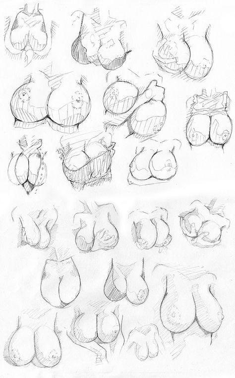 Senih boobs study by westwolf270 | Drawing | Pinterest | Boobs ...