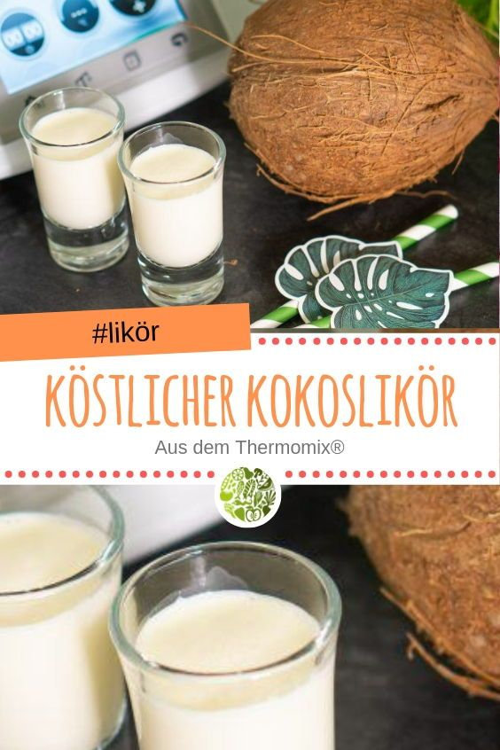 Photo of Delicious coconut liqueur from Thermomix®