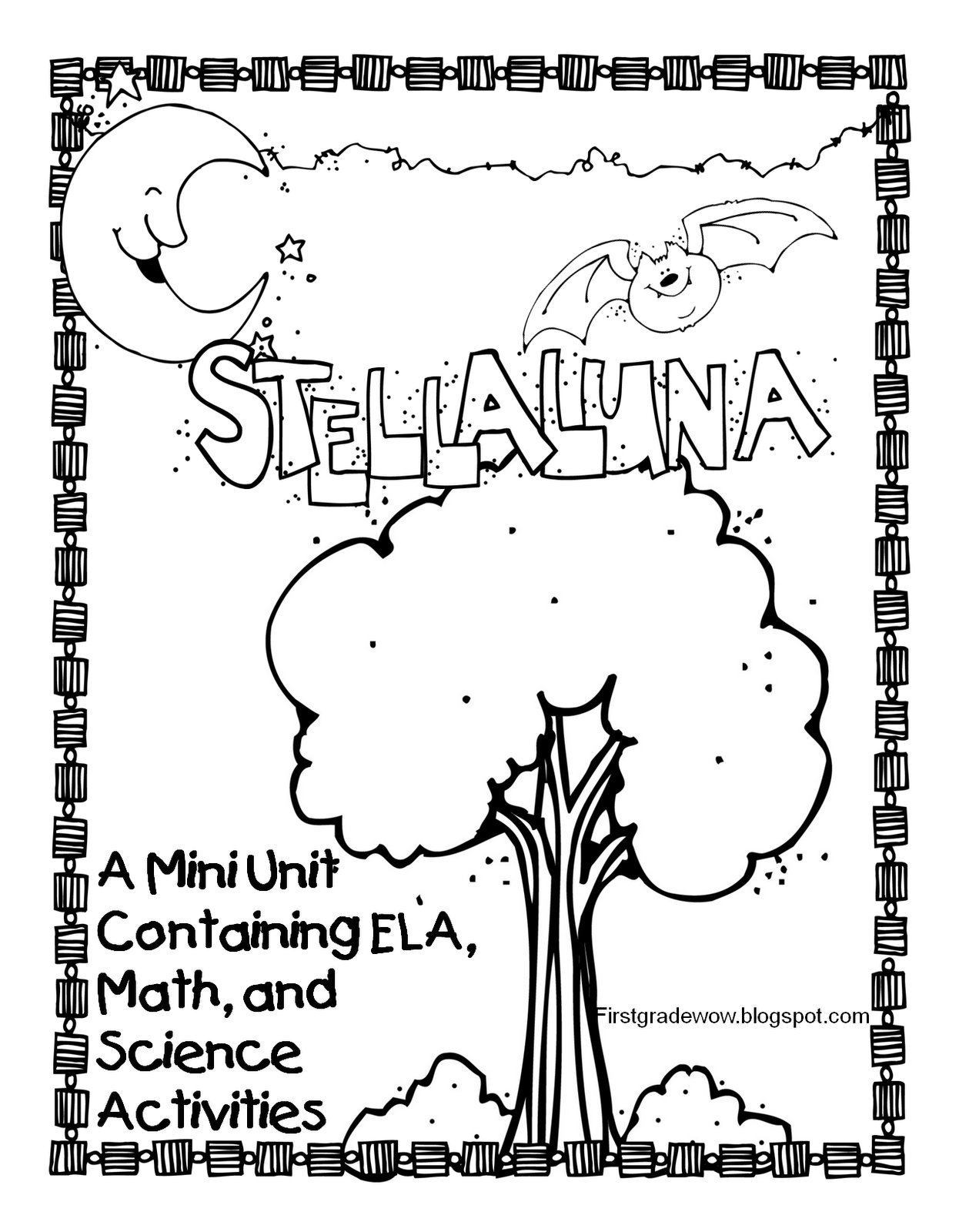 FREE Stellaluna unit...perfect for this time of year...and