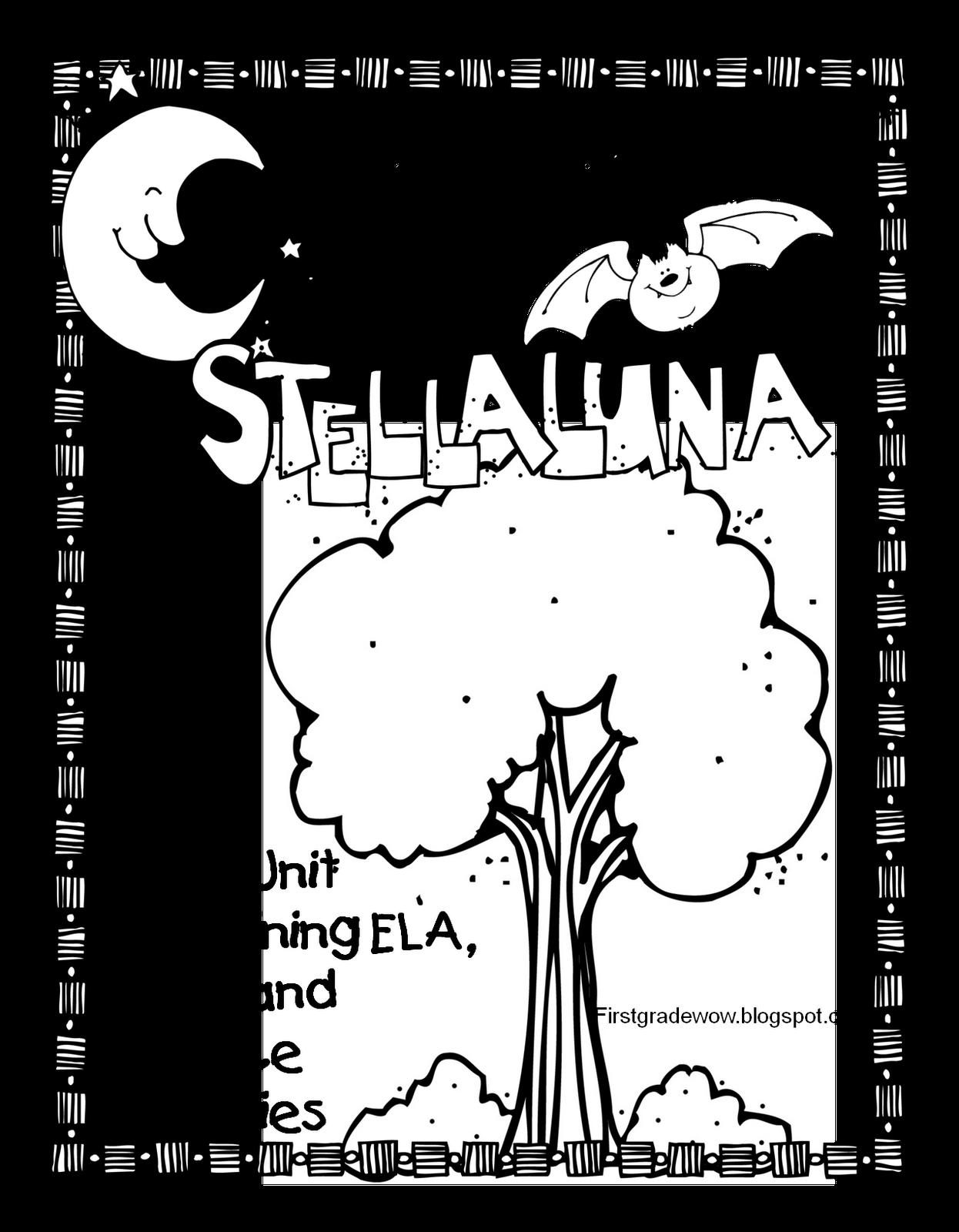 stellaluna lesson plans pdf
