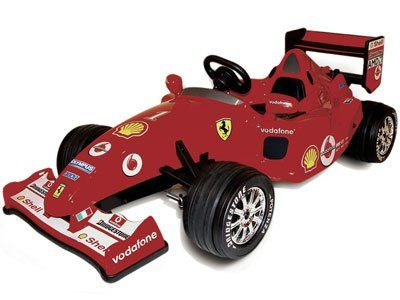 ferrari f1 12volt by berchet this is surely one of the high end ride on