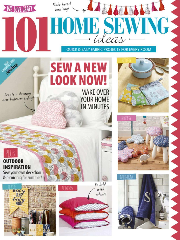 101 Home Sewing Ideas Magazine (Digital) | Pinterest | Sewing ideas ...