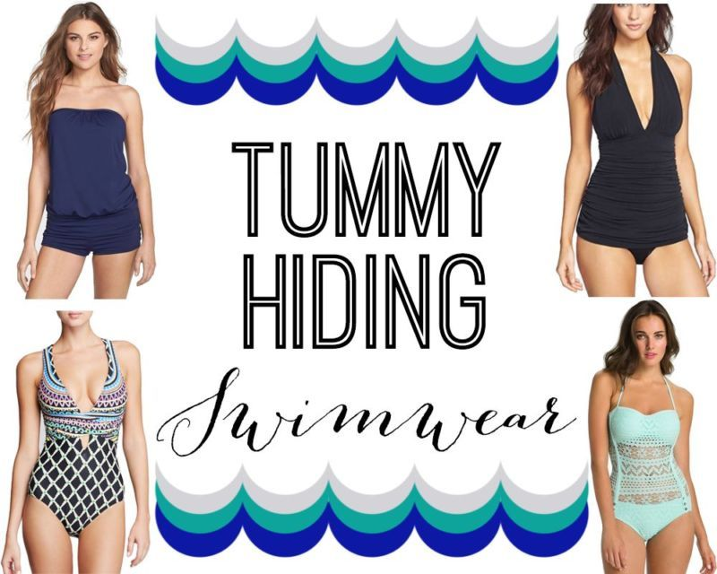 b67d31f71eb Tummy Hiding Swimwear (FOR ALL BODY TYPES! -- Busty