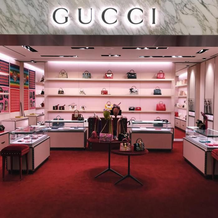 c88d64a8fe1 GUCCI Store inside Nordstrom at the Westfield Topanga Mall | MALIBU ...